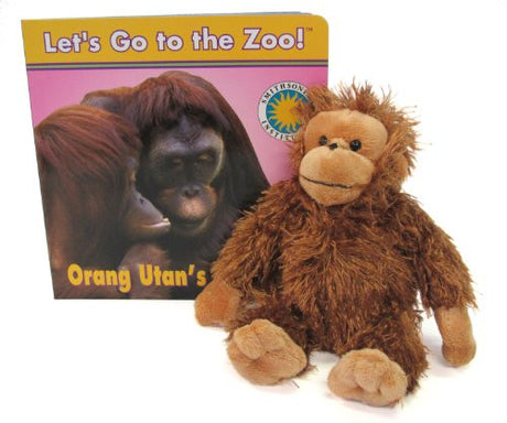 Orang Utan's Play Time (Let's Go To The Zoo!)