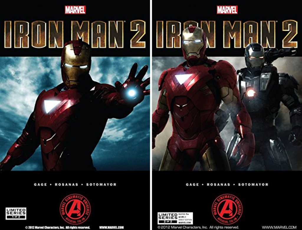 Marvel's Iron Man 2 Adaptation (Issues) (2 Book Series)