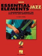 Essential Elements for Jazz Ensemble - Bass - BK+CD