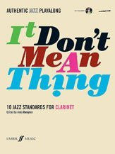 Alfred 12-0571527396 Authentic Jazz Play-Along- It Don t Mean a Thing