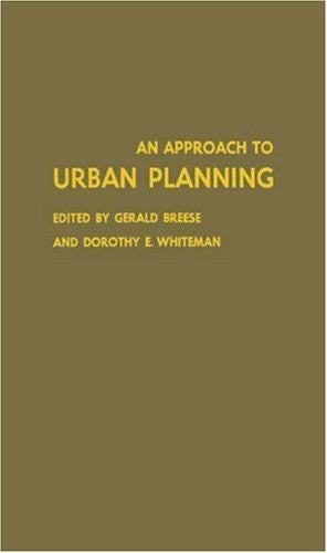 An Approach to Urban Planning: