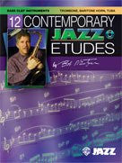 Alfred Publishing 00-ELM04015 12 Contemporary Jazz Etudes