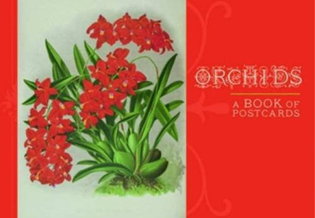 Orchids Book of Postcards AA749
