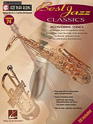 Best Jazz Classics Softcover with CD