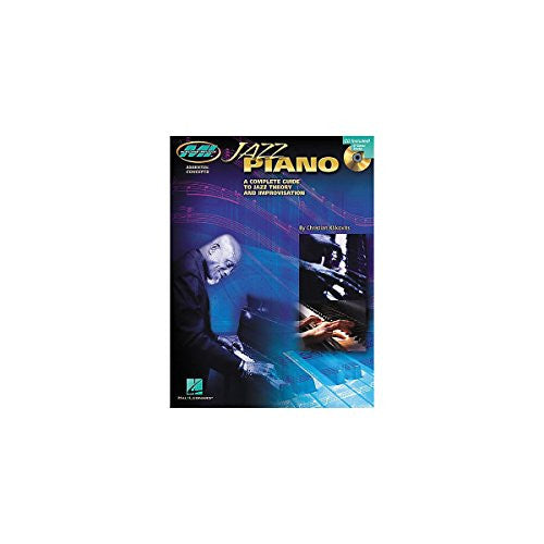 Hal Leonard Jazz Piano A Complete Guide to Jazz Theory and Improvisation Book and CD