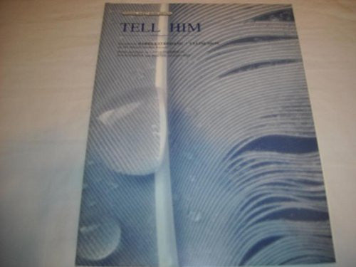 TELL HIM BARBARA STREISAND 1997 SHEET MUSIC SHEET MUSIC 244