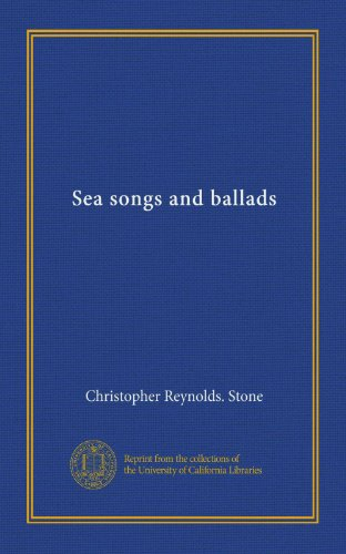 Sea songs and ballads