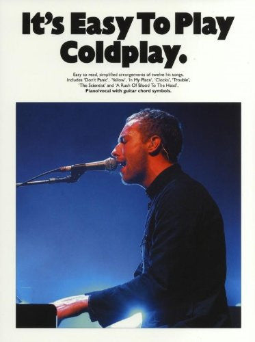 """ Coldplay "" : It's Easy To Play"