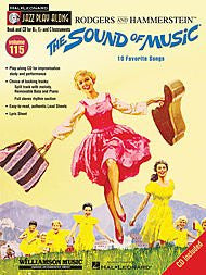 Hal Leonard The Sound of Music-Jazz Play-Along Volume 115 (Book and CD)