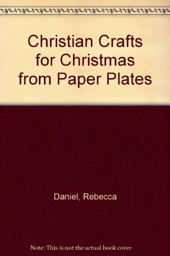 Christian Crafts for Christmas from Paper Plates