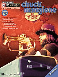 Chuck Mangione Jazz Play-Along Volume 127 Book & CD