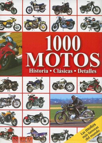 1000 motos/ 1000 Motorcycles (Spanish Edition)