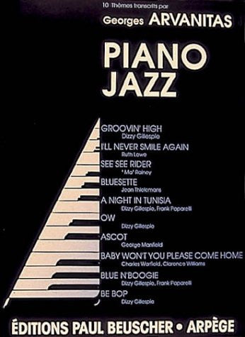 Partition : Album piano jazz, 10 themes