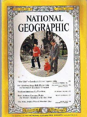 National Geographic: June 1961 (Vol. 119)