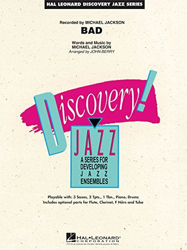 Bad - Series: Discovery Jazz Level:1.5 - Score and Parts