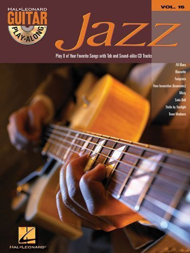Jazz Guitar Play-Along: v. 16 (Hal Leonard Guitar Play-Along) by unknown (2005) Sheet music