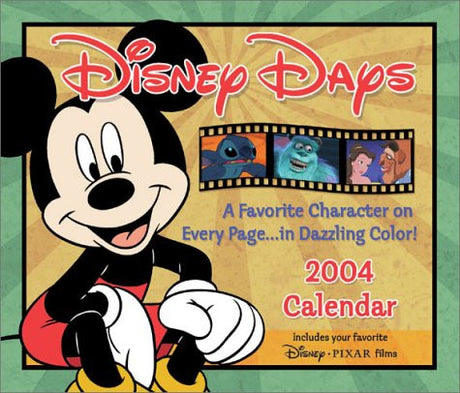 Disney Days 2004 Day-To-Day Calendar