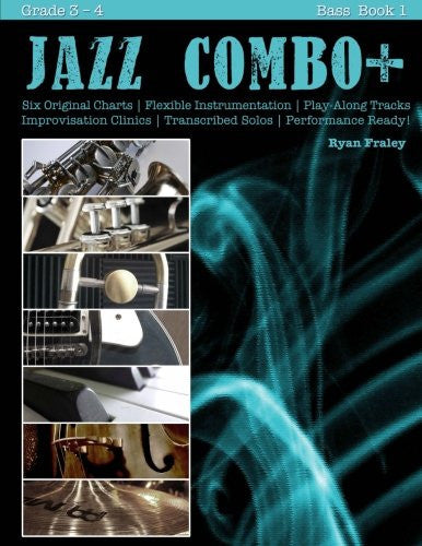 Jazz Combo Plus, Bass Book 1: Flexible Combo Charts | Solo Transcriptions | Play-Along Tracks (Volume 9)