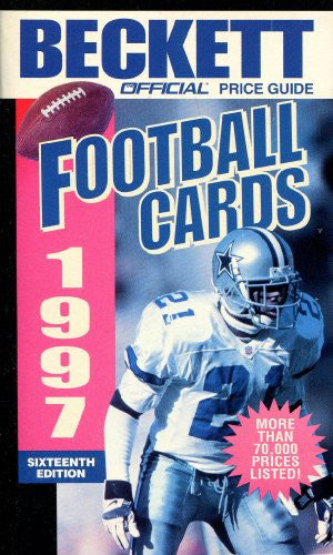 Official Price Guide to Football Cards, 16th ed., 1997
