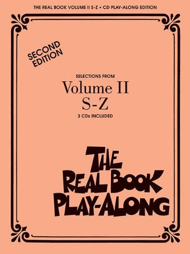 The Real Book Play-Along - Volume II: S-Z 3-CD Set