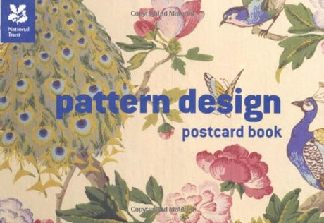 National Trust Pattern Design Postcard Book