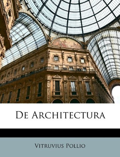 De Architectura (Latin Edition)