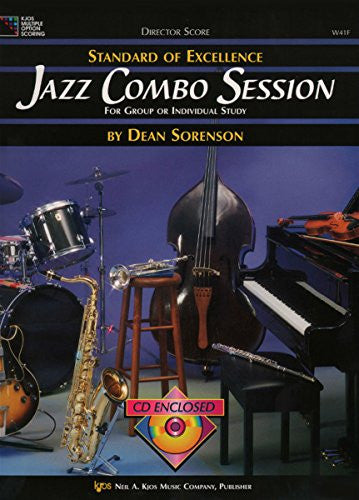 W41F - Standard Of Excellence - Jazz Combo Session Director Score with CD