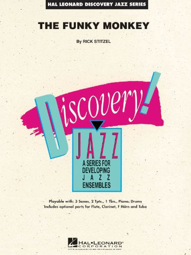 The Funky Monkey Series: Discovery Jazz Level 1.5 - Score & Parts