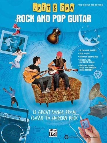 Just For Fun: Rock And Pop Guitar Easy Guitar Tab Edition