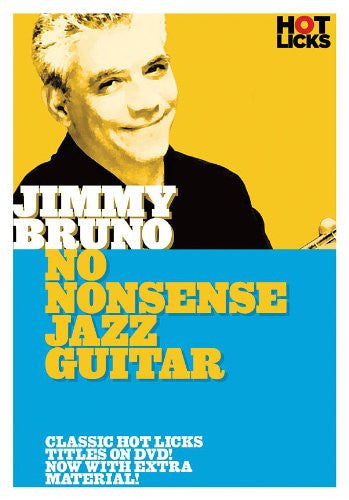 Jimmy Bruno - No Nonsense Jazz Guitar - DVD