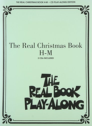 The Real Christmas Book Play Along H-M (Book/3-Cd Pack)