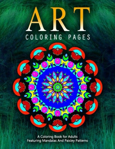 ART COLORING PAGES - Vol.7: adult coloring pages (Volume 7)