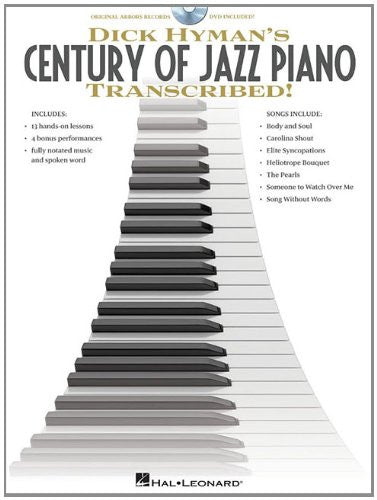 Dick Hyman's Century of Jazz Piano - Transcribed! - Instructional Book/DVD