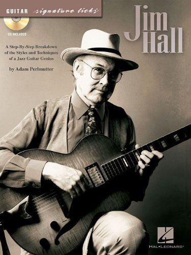 Jim Hall Guitar Signature Licks BK/CD