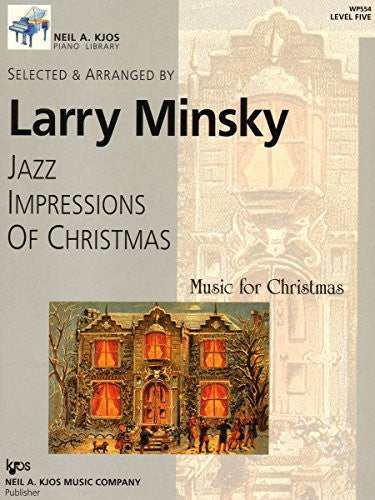 WP554 - Jazz Impressions Of Christmas - Level Five