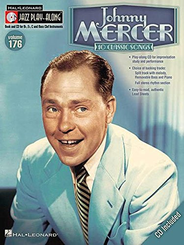 Johnny Mercer: Jazz Play-Along Volume 176 (Book/CD)