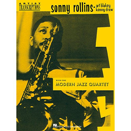 Hal Leonard Sonny Rollins With The Modern Jazz Quartet