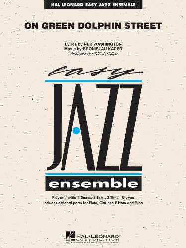 On Green Dolphin Street - Jazz Ensemble Score and Parts