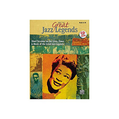 Alfred Meet the Great Jazz Legends Book/CD