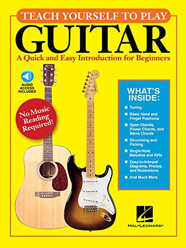 Teach Yourself to Play Guitar -Book/online audio