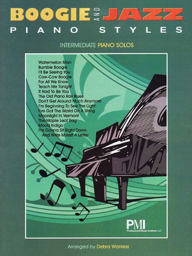 Boogie And Jazz Piano Styles Intermediate Piano Solos