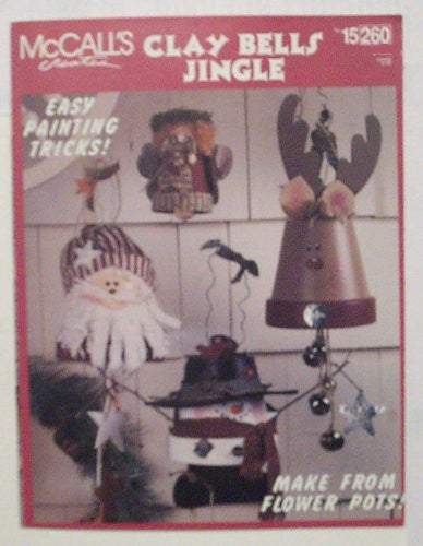 Clay Bells Jingle Painting Craft Book