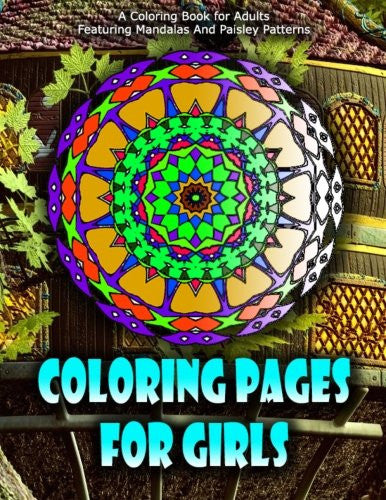 COLORING PAGES FOR GIRLS - Vol.7: coloring pages for girls (Volume 7)