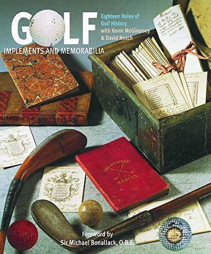 Golf: Implements and Memorabilia