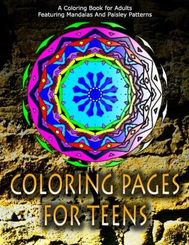COLORING PAGES FOR TEENS - Vol.7: adult coloring pages (Volume 7)