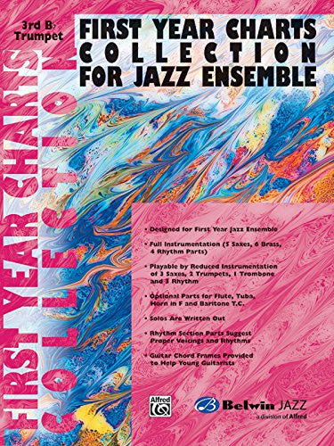 First Year Charts Collection for Jazz Ensemble: 3rd B-flat Trumpet
