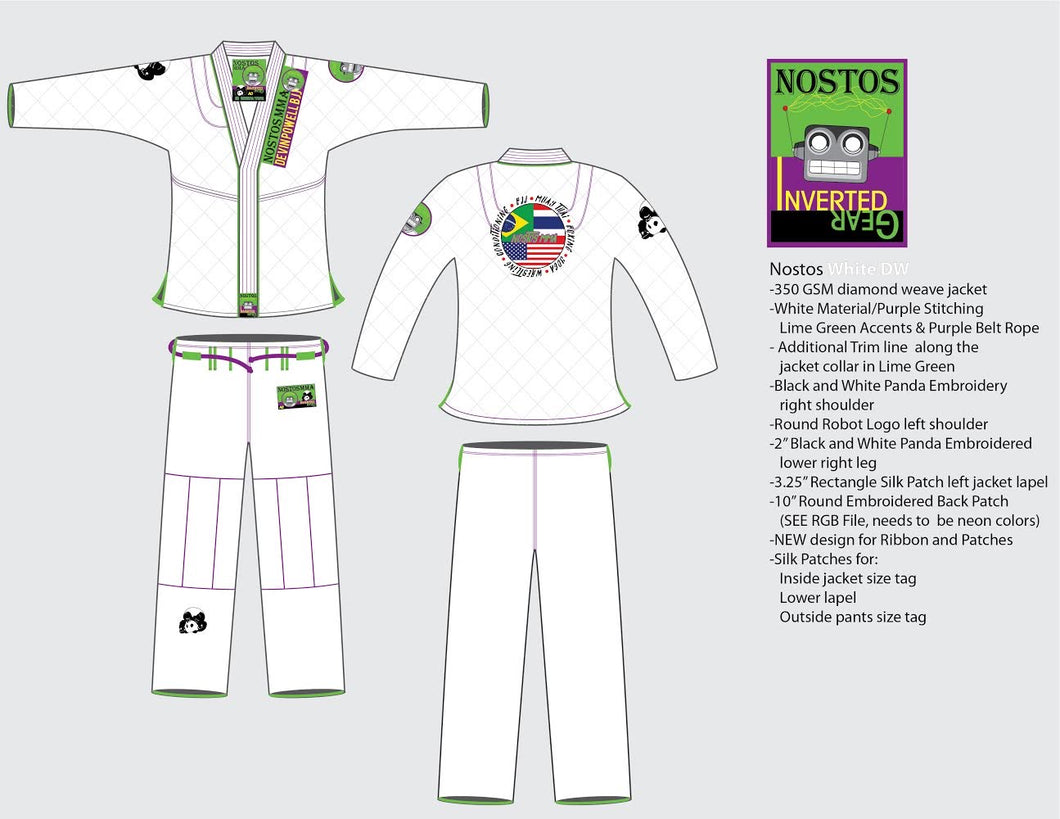 New Nostos Gi - Adult