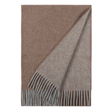 Load image into Gallery viewer, Superfine Merino is woven with a luxurious feel and in a contemporary colour palette. Woven at the Bute Fabrics mill on the Isle of Bute, this stole is the perfect lightweight accessory.