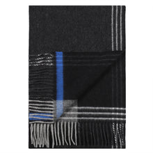 Load image into Gallery viewer, Multi Stripe Black Scarf