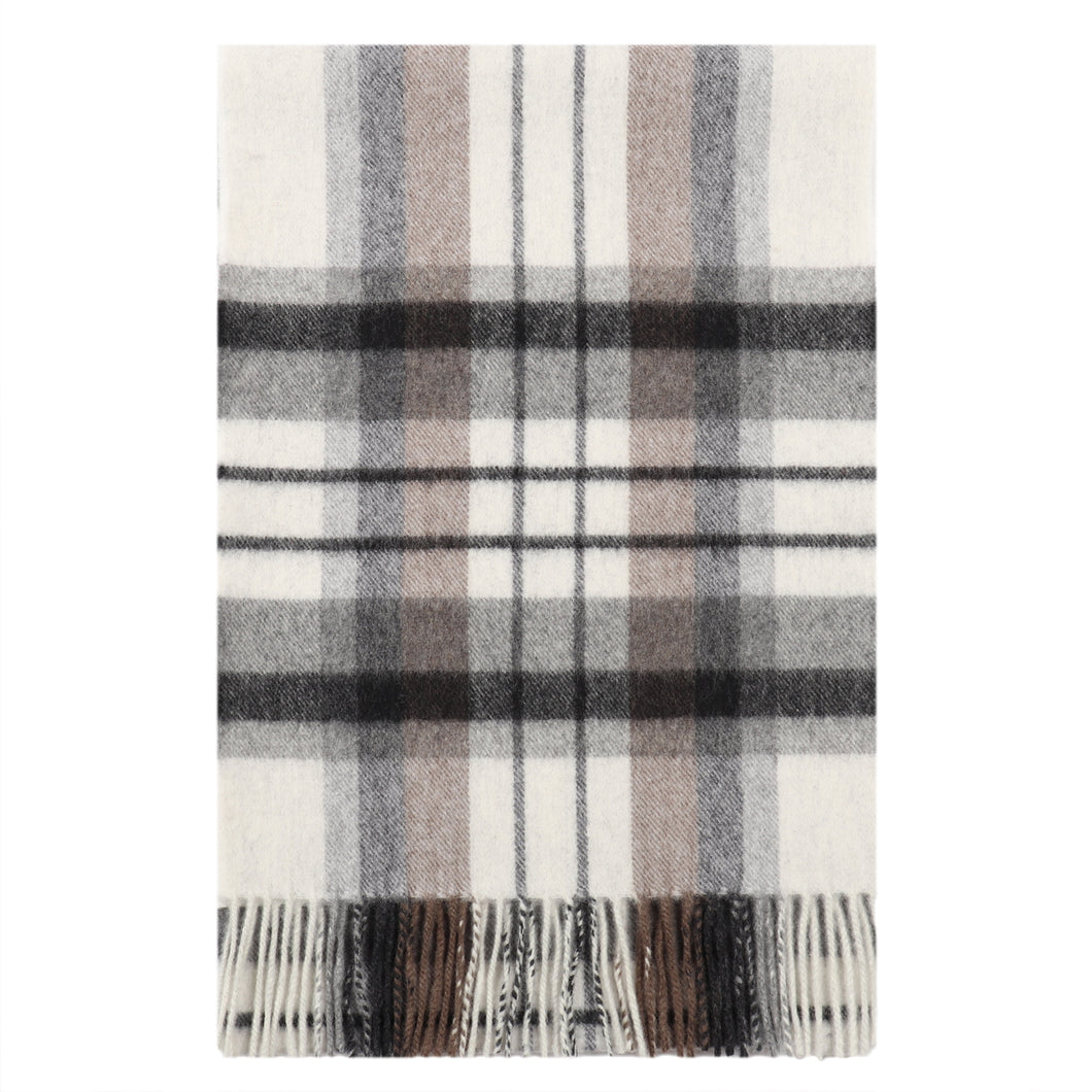 Classic Check Grey Scarf